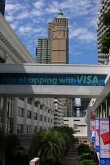 shopping with VISA (DocAdvert) Tags: city june shopping thailand oliver bangkok 2009 docadvert visa kramp ollikramp