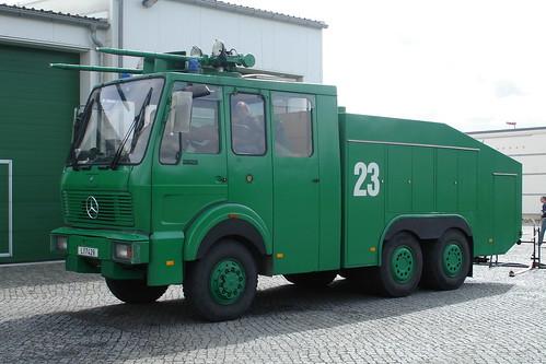 Polizei Sachsen - Mercedes-Benz 2628 Wawe 9000