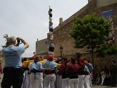 """Castellers de Poble Sec, Esparreguera May 2010 """"4de6 amb l'agulla"""" 2"""