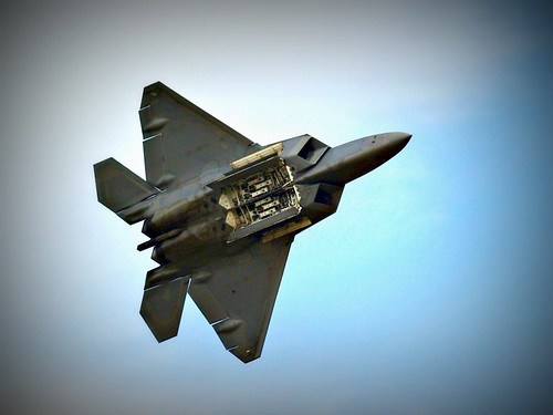 F22 with Payload Compartment Open