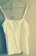 cami (Grace & Ivy) Tags: white cream pearls simple hanger camisole