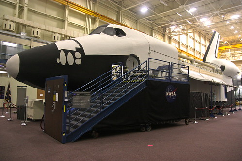 Inside the  Space Vehicle Mockup Facility