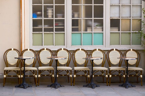Chairs and Colored Windows, Paris