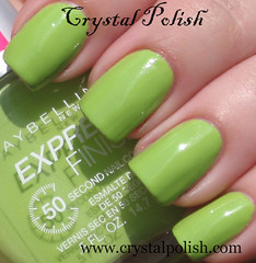 Maybelline Outloud Lime (CrystalPolish) Tags: green creme drugstore maybelline outloudlime