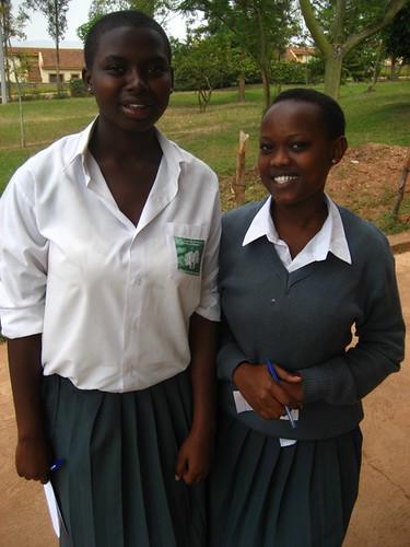 Rwanda students girls