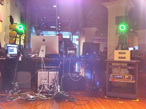 CBS News Live Control Room