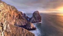 Farewell Portugal (mpjones_007) Tags: sunset praia portugal cabo sintra atlantic roca ursa adraga
