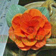 klobot bunga mawar kecil polos