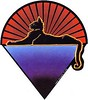 Jerry Garcia Band - Cats Under The Stars logo emblem dealie