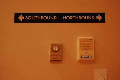 <- Southbound Northbound ->