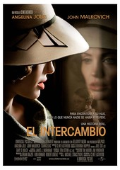 Póster de El intercambio Clint Eastwood Angelina Jolie