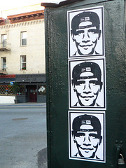 New Era (Dawn Endico) Tags: sanfrancisco california streetart art event inauguration inaugurationday2009