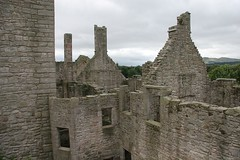 tops of buildings (dryasadingo) Tags: castle scotland edinburgh historicscotland craigmillar