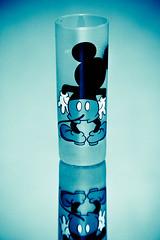 (A M A Z I N G) Tags: blue black love glass mouse cub amazing you drink g n mickey m z fav reflaction blackso