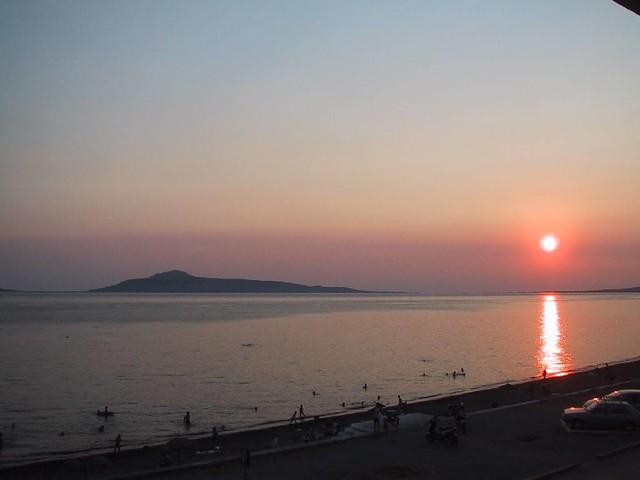Πελοπόννησος - Λακωνία - Δήμος Βοιών Ηλιοβασίλεμα στη Νεάπολη