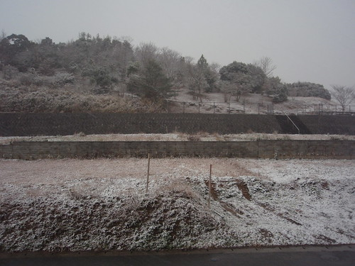snow on the kofun