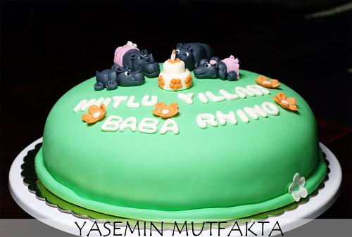 Rhino Cake