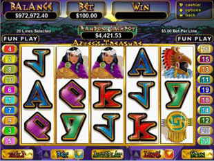 Aztecs Treasure Slot Machine Online ᐈ RTG™ Casino Slots
