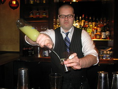 Copa d'Oro cocktail bar's Damian Windsor by Caroline on Crack