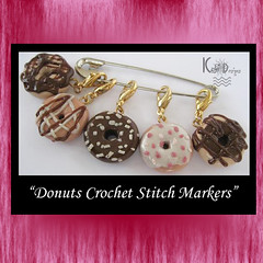Donuts Crochet Stitch Markers