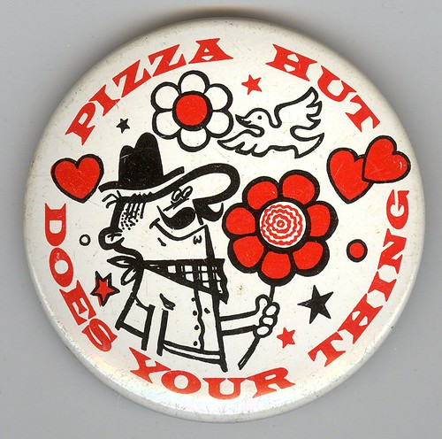 Pizza Hut Pete Button