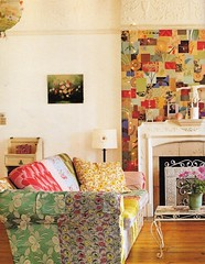 cute patchwork couch (lorryx3) Tags: inspiration vintage room lounge loungeroom bazaarstyle patchworkcouch
