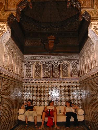 Als echte sultans in het Paleis