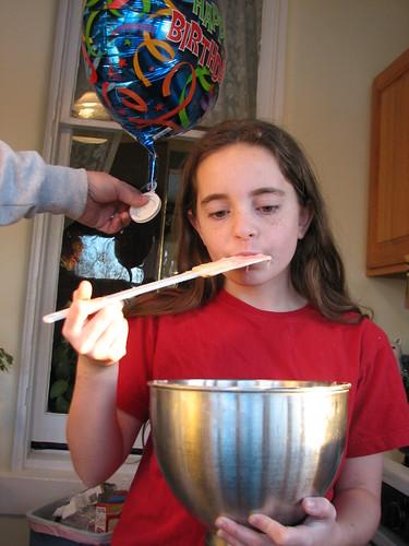 gotta lick the bowl