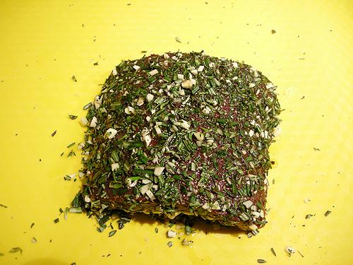 鹿肉佐焗塊根芹菜-090209