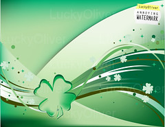 Fluttering Shamrocks (theartdream) Tags: original ireland wallpaper irish holiday green art leaves saint illustration emblem festive four design march leaf holidays day pattern unique decorative background traditional patrick luck lucky concept patricks clover legend celebrate shamrock vector repeating