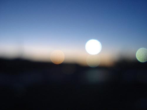 167/365 - Blurry Sky