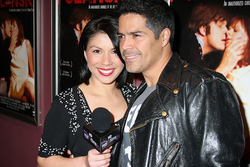 Rose Arzate and Esai Morales