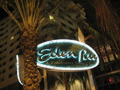 Eden Roc Hotel Sign - Miami Beach