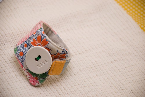 gift from JCHandmade - Mama wrist cuff