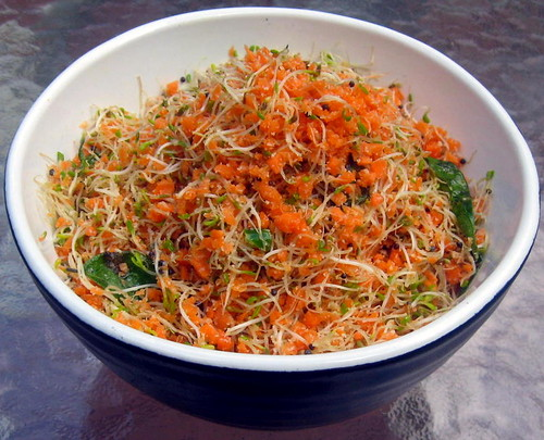 how to make alfalfa sprouts salad