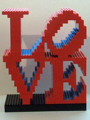 Robert Indiana LOVE Sculpture