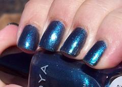 Zoya Kotori (JenFrat) Tags: blue macro zoya nail nails manicure nailpolish picnik shimmer notd kotori naturalnails