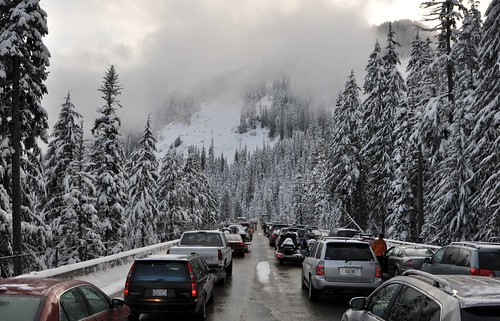 Stuck on Snoqualmie Pass