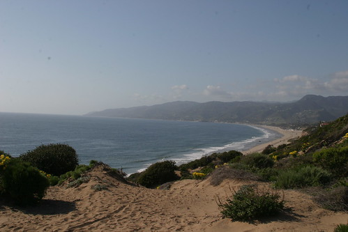 looking north from point dume