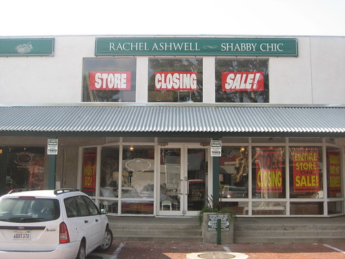 Shabby Chic closes its doors