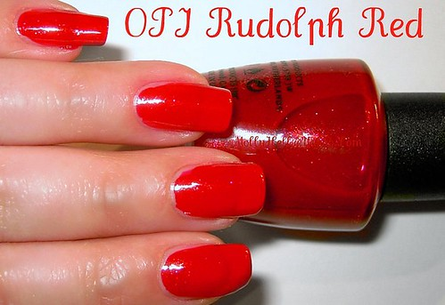 OPI Rudolph Red