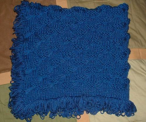 bluebabyblanket fold