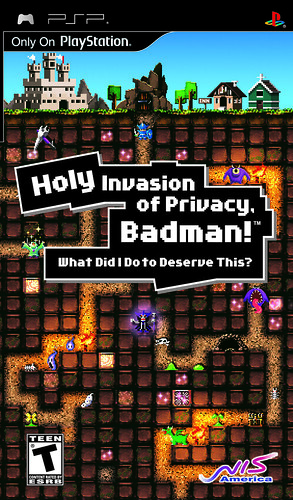Holy Invasion of Privacy, Badman! PSP Package