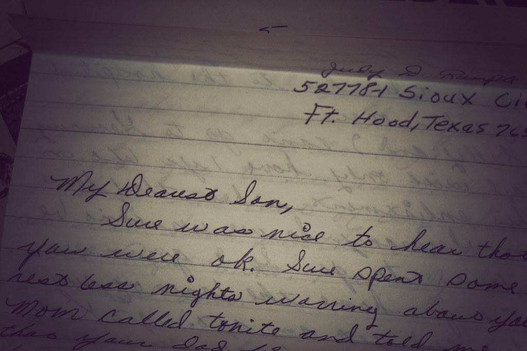 Dearest Son post marked 1975