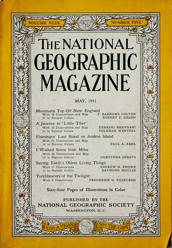 Cover, May 1951