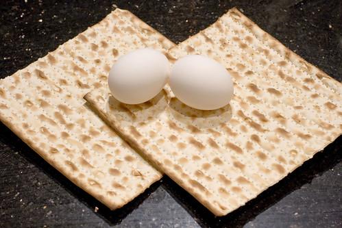 Eggs & Matzoh