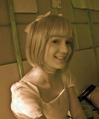 Sabrina Relaxing (aeschylus18917) Tags: park red portrait woman sabrina cute girl beautiful smile japan pose landscape ir tokyo model nikon d70 nikond70 infrared 日本 東京 ribbon koen nikkor infra 1870mm nerima f3545g 1870 nerimaku shakuji shakujikoen 赤外線 日本庭園 1870f3545g nihonteien shakujipark ダニエル nikkor1870f3545g danielruyle aeschylus18917 danruyle druyle ルール ダニエルルール 1870mmf3545gifdx nikkor1870f3545gdx