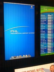 Philadelphia Airport System (Jesse Wagstaff) Tags: desktop apple public macintosh airport dock mac technology display osx mini screen system monitor leopard finder phl philadelpha iphoneed
