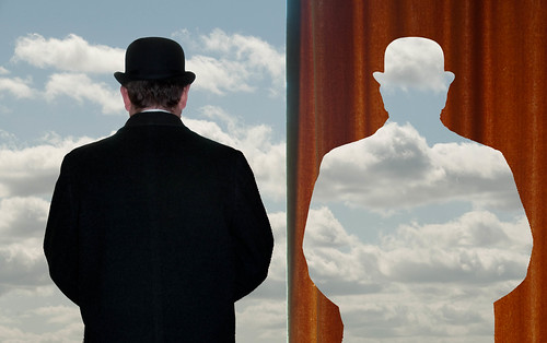 103/365: Magritte - Sky Silhouette