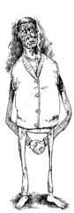 ponderer (Ryan Samuel Carr) Tags: illustration ink drawing think reflect pensive ponder hondfold